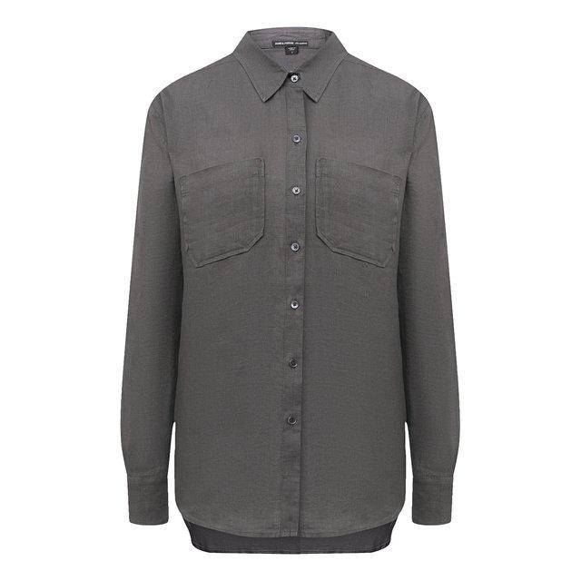 Льняная рубашка James Perse