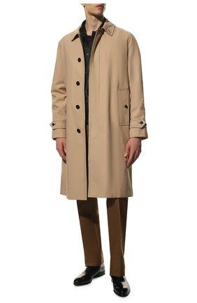 Мужские кожаные оксфорды ZEGNA COUTURE черного цвета, арт. A4618X-LHDLS | Фото 2