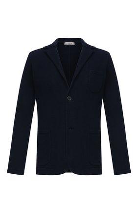 Мужской пиджак из шерсти и кашемира FIORONI темно-синего цвета, арт. MKF21315G1   Фото 1