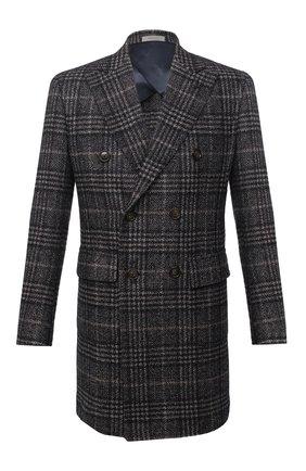 Мужской пальто из шерсти и шелка CORNELIANI разноцветного цвета, арт. 861419-0812100/00 | Фото 1
