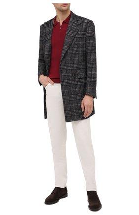 Мужской пальто из шерсти и шелка CORNELIANI разноцветного цвета, арт. 861419-0812100/00 | Фото 2