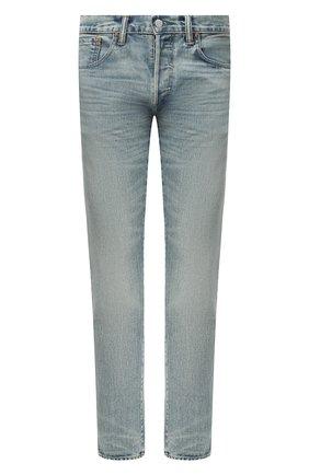 Мужские джинсы RRL голубого цвета, арт. 782504838/030 | Фото 1