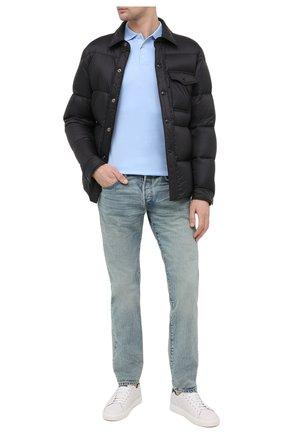 Мужские джинсы RRL голубого цвета, арт. 782504838/030 | Фото 2