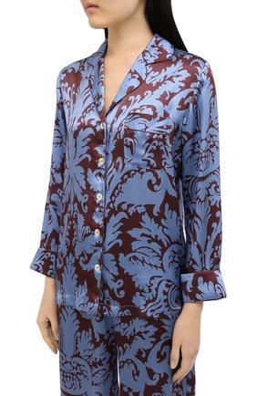 Женская пижама LUNA DI SETA голубого цвета, арт. VLST60704 | Фото 2