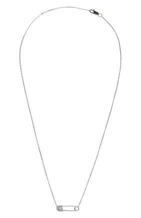 Женское колье J-POINT белого цвета, арт. ИПГ857.48.141020.12W | Фото 1