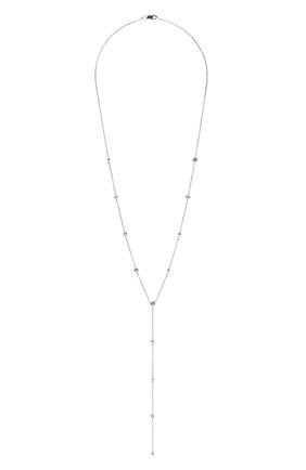 Женское колье J-POINT белого цвета, арт. ИПГ857.39.040920.4W | Фото 1 (Материал: Золото)