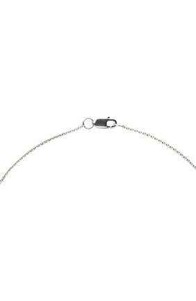 Женское колье J-POINT белого цвета, арт. ИПГ857.39.040920.4W | Фото 3 (Материал: Золото)