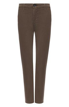 Женские брюки AG хаки цвета, арт. SBW1613/P0RD/MX | Фото 1