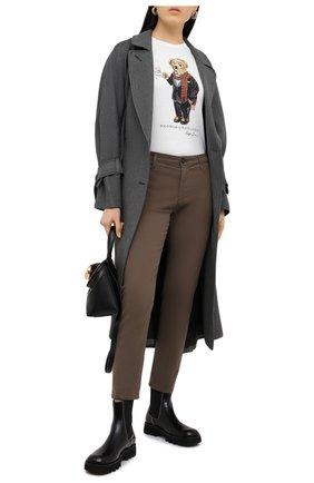 Женские брюки AG хаки цвета, арт. SBW1613/P0RD/MX | Фото 2