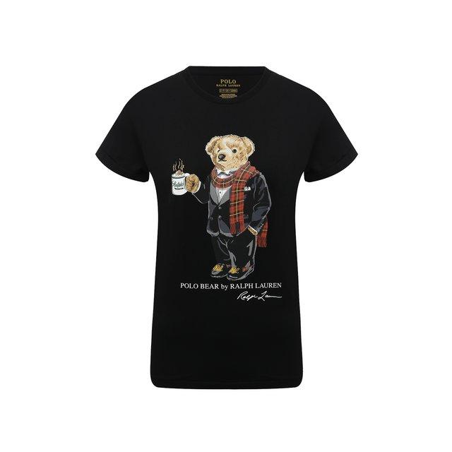 Хлопковая футболка Polo Ralph Lauren