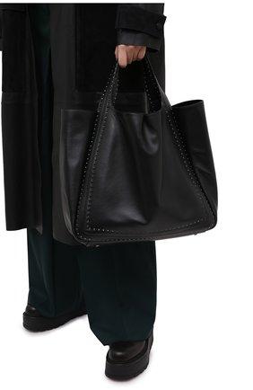 Женский сумка-шопер valentino garavani atelier VALENTINO черного цвета, арт. UW0B0H85/GXU | Фото 2