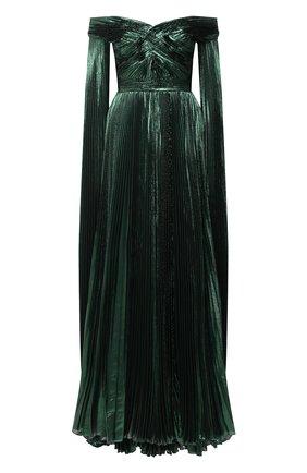 Женское платье ZUHAIR MURAD зеленого цвета, арт. DRP20045/CHLU003 | Фото 1