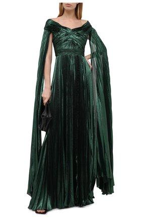 Женское платье ZUHAIR MURAD зеленого цвета, арт. DRP20045/CHLU003 | Фото 2