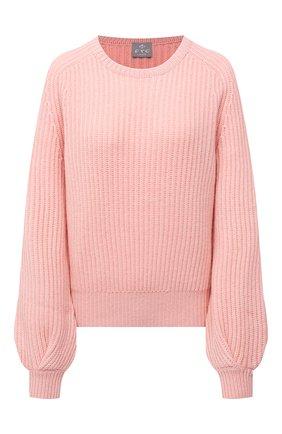Женский кашемировый свитер FTC розового цвета, арт. 810-0070 | Фото 1