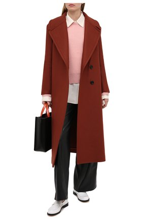 Женский кашемировый свитер FTC розового цвета, арт. 810-0070 | Фото 2