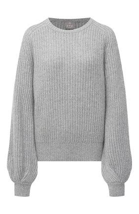 Женский кашемировый свитер FTC серого цвета, арт. 810-0070 | Фото 1