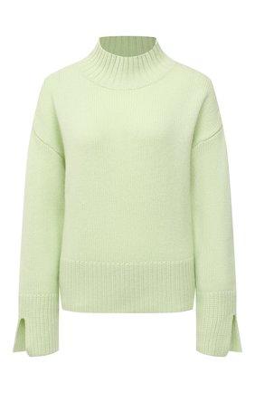Женский кашемировый свитер FTC зеленого цвета, арт. 810-0250   Фото 1