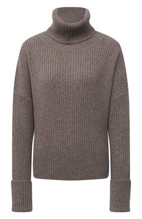 Женский кашемировый свитер FTC коричневого цвета, арт. 810-0470 | Фото 1