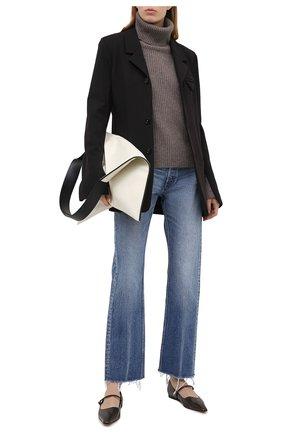 Женский кашемировый свитер FTC коричневого цвета, арт. 810-0470 | Фото 2