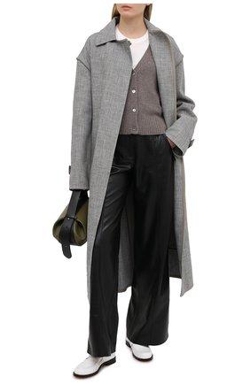 Женский кашемировый кардиган FTC коричневого цвета, арт. 810-0490   Фото 2