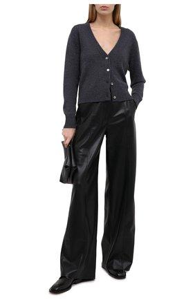 Женский кашемировый кардиган FTC серого цвета, арт. 810-0490 | Фото 2