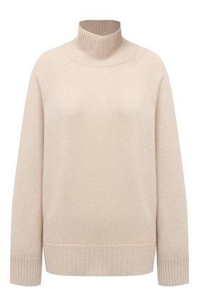 Женский кашемировый свитер FTC бежевого цвета, арт. 810-0520 | Фото 1