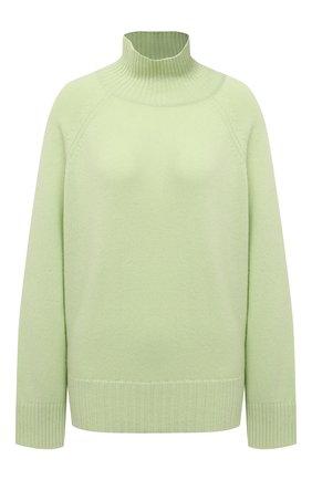 Женский кашемировый свитер FTC зеленого цвета, арт. 810-0520   Фото 1