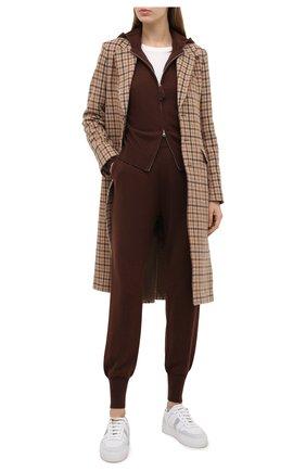 Женские джоггеры FTC коричневого цвета, арт. 816-0300 | Фото 2