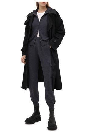 Женские джоггеры FTC серого цвета, арт. 816-0300 | Фото 2