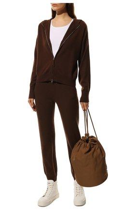 Женский кардиган FTC коричневого цвета, арт. 816-0320 | Фото 2