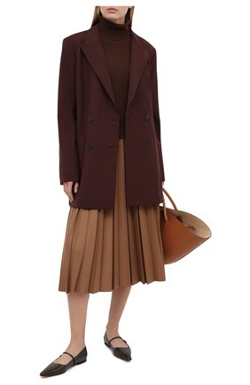 Женская водолазка FTC коричневого цвета, арт. 816-0490 | Фото 2