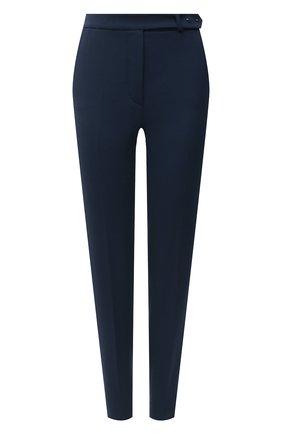 Женские шерстяные брюки LORO PIANA синего цвета, арт. FAL3914 | Фото 1