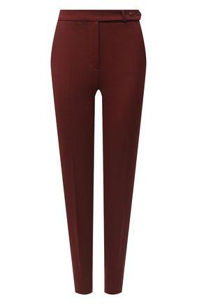 Женские шерстяные брюки LORO PIANA бордового цвета, арт. FAL3914 | Фото 1
