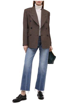 Женская кожаные монки CHURCH'S черного цвета, арт. D00005/9XV   Фото 2