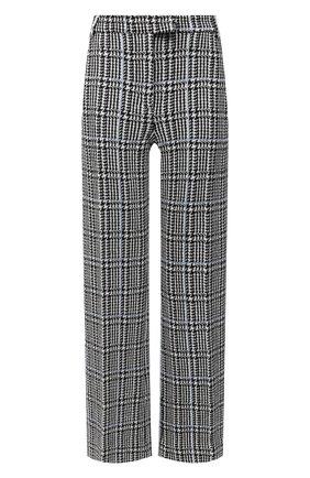 Женские брюки ST. JOHN черно-белого цвета, арт. K811091 | Фото 1
