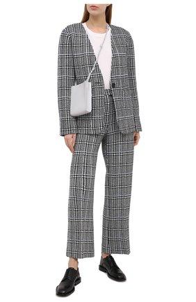 Женские брюки ST. JOHN черно-белого цвета, арт. K811091 | Фото 2