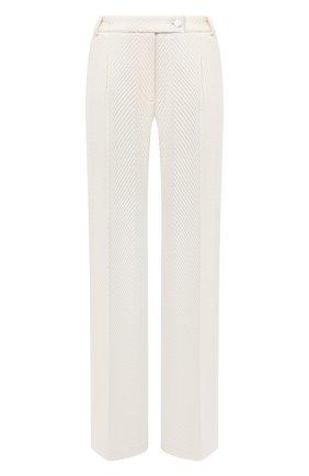 Женские шерстяные брюки ST. JOHN кремвого цвета, арт. K8110A1 | Фото 1