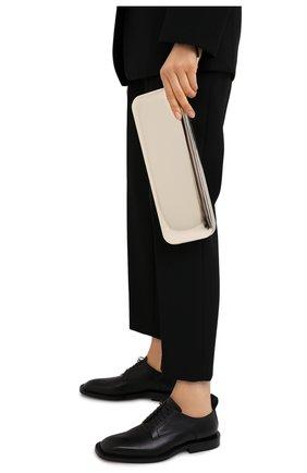 Женский клатч JIL SANDER серебряного цвета, арт. JSWR856489-WRB00082F | Фото 2