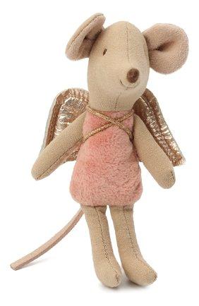 Детского игрушка мышка младшая сестра MAILEG розового цвета, арт. 16-0728-00 | Фото 1
