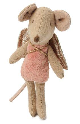Детского игрушка мышка младшая сестра MAILEG розового цвета, арт. 16-0728-00 | Фото 2