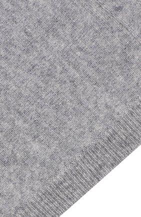 Детского кашемировая шапка-балаклава IL GUFO серого цвета, арт. A20E0184EM300   Фото 3 (Материал: Кашемир, Шерсть)