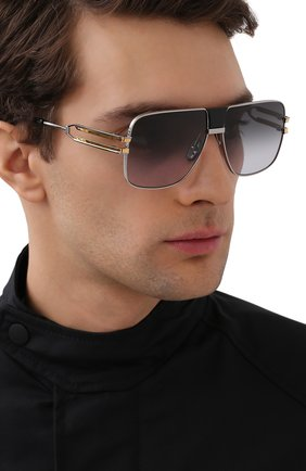 Мужские солнцезащитные очки BALMAIN серого цвета, арт. BPS-103B | Фото 2