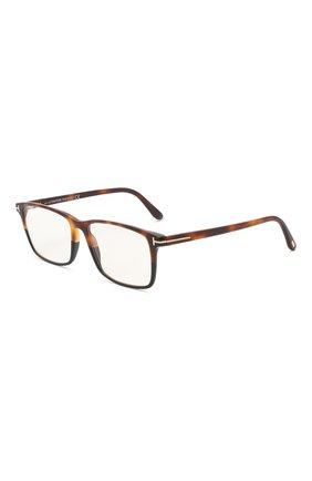 Мужские оправа TOM FORD коричневого цвета, арт. TF5584-B 053 | Фото 1