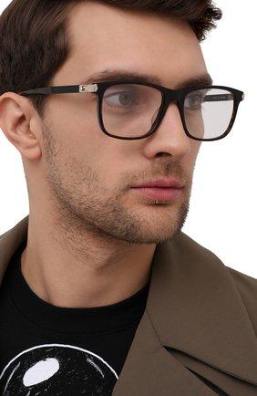 Мужские оправа MONTBLANC коричневого цвета, арт. MB0035 007 | Фото 2