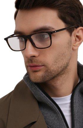 Мужские оправа MONTBLANC коричневого цвета, арт. MB0012 006 | Фото 2