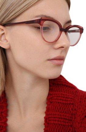Женские оправа CAROLINE ABRAM красного цвета, арт. BEAUTY 687 | Фото 2