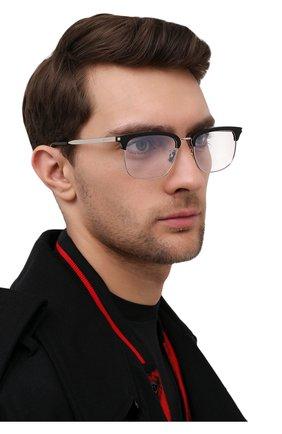 Мужские оправа SAINT LAURENT черного цвета, арт. SL 346 001 | Фото 2