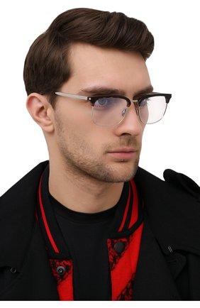 Мужские оправа SAINT LAURENT черного цвета, арт. SL 346 004 | Фото 2