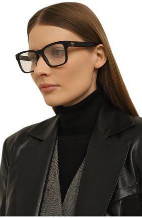 Женские оправа VERSACE черного цвета, арт. 3285-GB1   Фото 2 (Тип очков: Оправа; Оптика Гендер: оптика-женское; Очки форма: Прямоугольные)