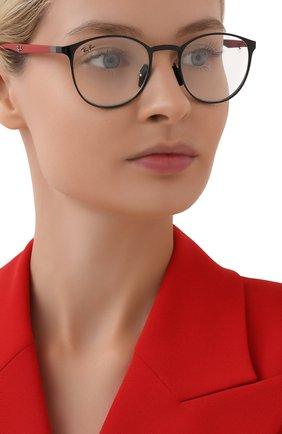 Женские оправа RAY-BAN черного цвета, арт. 6355M-F028   Фото 2